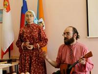 Музыкальный мастер в гостях у Верещагинки