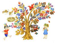 «Чудо-дерево». Театрализованная игровая программа в Библиотеке №4