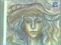 Новости 16.09.16 (фрагмент) Выставка  графических работ Н.Дорофеева