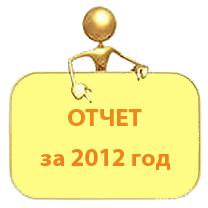 Отчёт о деятельности МБУК «Объединение библиотек» за 2012 год