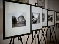 Открытие выставки фотографий А.Баринова