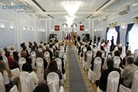 Работников культуры чествовали сегодня в Череповце.