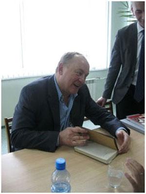 Януш Вишневский в Череповце